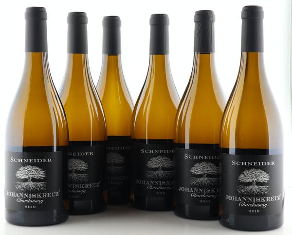 6 X Markus Schneider Johanniskreuz Chardonnay